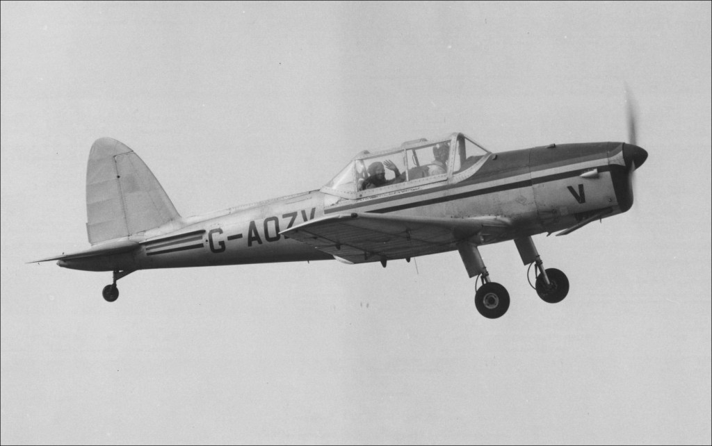 Photo of Myself flying my favourite aircraft, The Chipmunk 1965